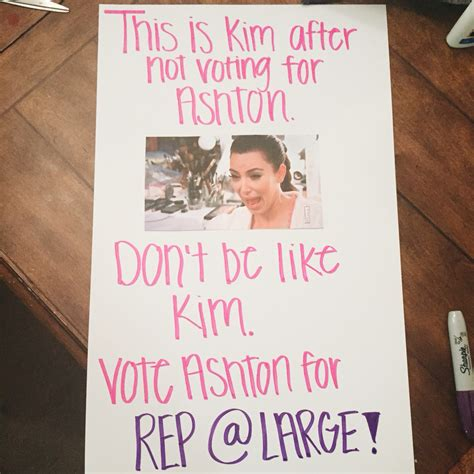 25 hilarious student council campaign poster ideasif you can read