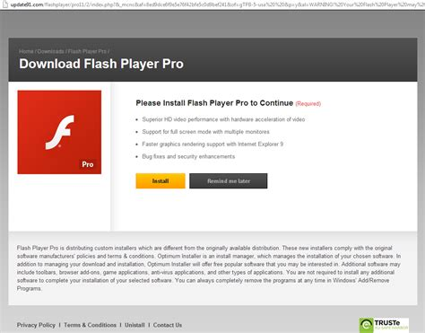 flash install flash update gamestrust