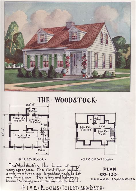 1950s house plans small mid century cape cod cottage nationwide house plan service 1950s small