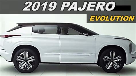 2019 All Mitsubishi Pajero by All New 2019 Mitsubishi Pajero Sport Evolution Superior