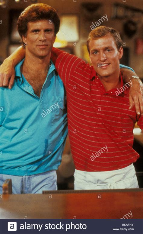woody harrelson young cheers cheers tv ted danson woody harrelson chrs 076 stock