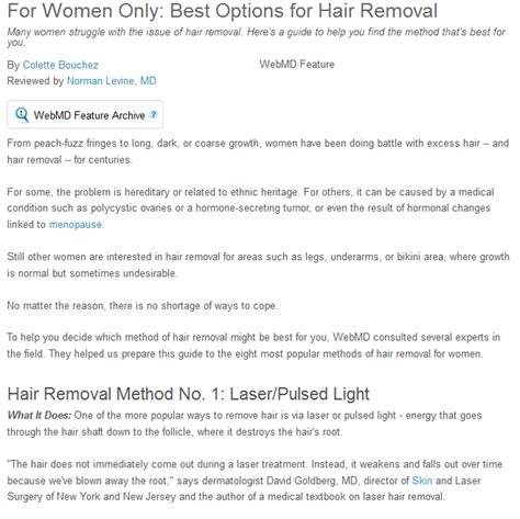 personal hair removal options hair removal in albuquerque ways in which women get rid