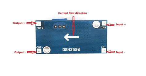 Lm2596 Dc Dc Step Bulk Converter Stepdown Stepdown Adj Regulator lm2596 dc dc buck converter step power module output