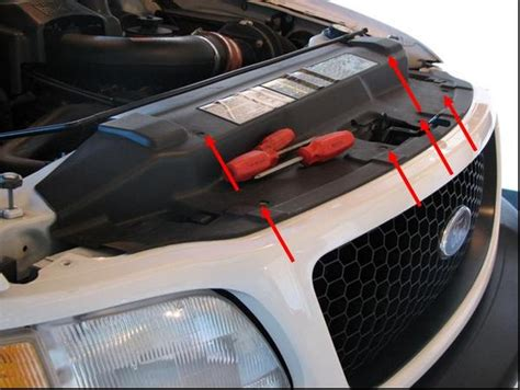how to remove the grill from a 2006 kia sedona how to remove your 2001 f 150 grille and paint it f150online forums