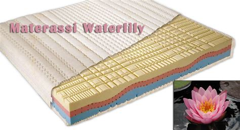 materasso memory waterlily materassi waterlily prezzi e offerte speciali