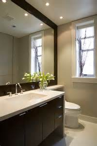 Modern Bathroom Mirror Frames Delightful Large Framed Bathroom Mirrors Decorating Ideas