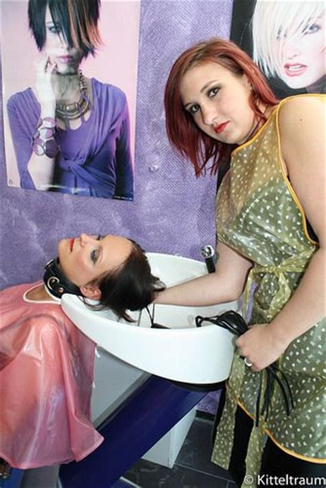 sissy forced haircut in salon 317 best images about pvc aprons on pinterest vinyls