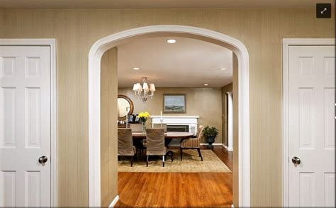 Baseboard Height interior room arches decoration ideas