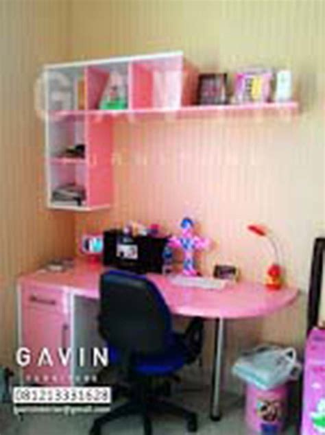 Meja Belajar Bahan Hpl meja belajar custom by gavin kitchen set minimalis