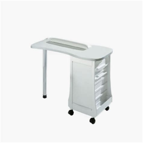 White Manicure Table Direct Salon Furniture White Manicure Table