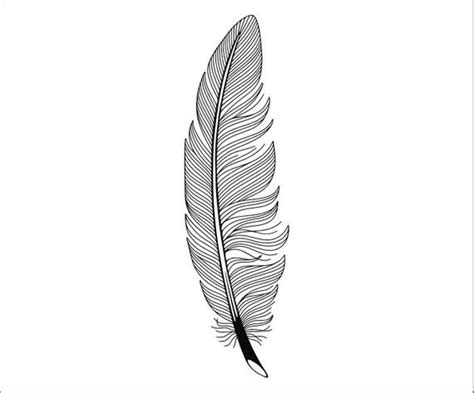 feather high quality printable clipart iron  transfer etsy