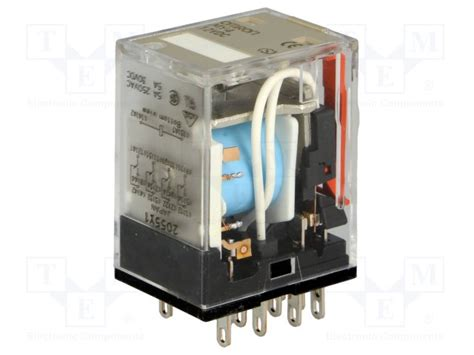 Relay Omron My4 12vdc my4 12vdc s omron relais 233 lectromagn 233 tique tme composants 233 lectroniques