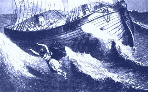 jonah thrown off the boat en el vientre de la ballena iii nihil sub sole novum