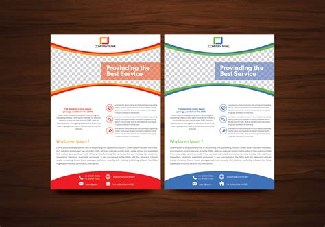 flyer and brochure templates vector brochure flyer template vector free