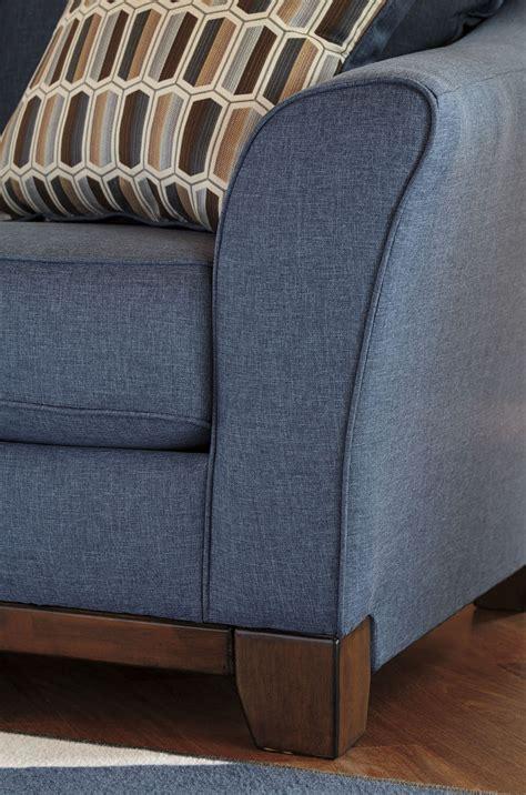 denim sofa and loveseat janley denim sofa from ashley coleman furniture
