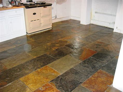 slate kitchen floor slate tiles cleaning and polishing tips for slate floors