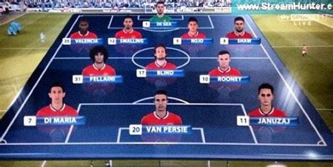 epl table line up picture manchester united s starting xi most costly ever