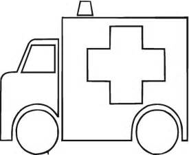 medical coloring books ambulances colouring pages