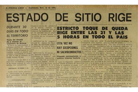 pagina de jubilados del estado de guatemala presidente arana osorio suspende las garant 237 as en 1970