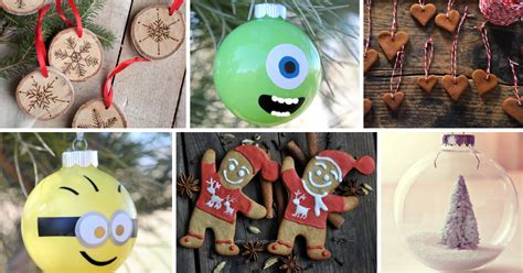 9 ideas for awesome homemade christmas ornaments cute