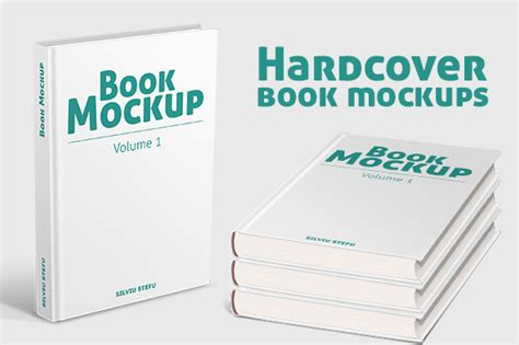 3d book cover psd template hardcover book mockups product mockups on creative market