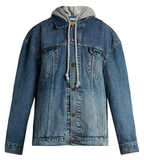 jean jacket design ideas indie designs oversized hooded denim trucker jacket