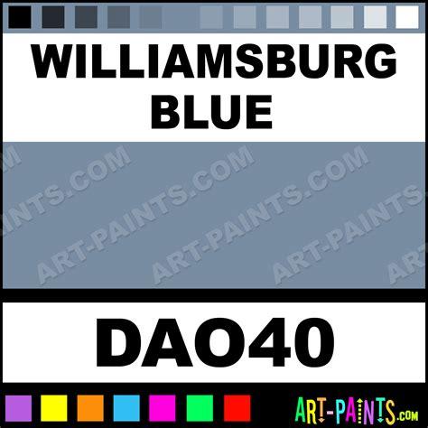 Williamsburg Paint Colors williamsburg blue americana acrylic paints dao40