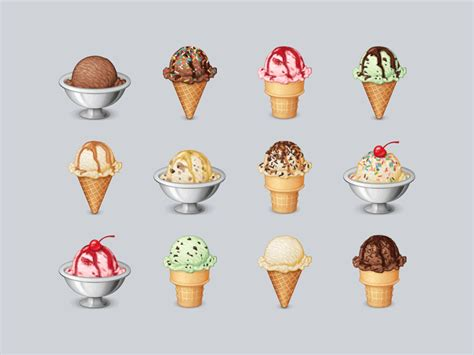 ice cream emoji ice cream emoji by alexa grafera dribbble