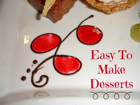 easy pits to make becky cooks lightly 30 easy to make desserts