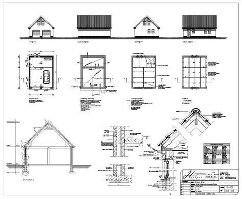 schuur bouwen tekening bouwtekening schuur gratis downloaden klik hier