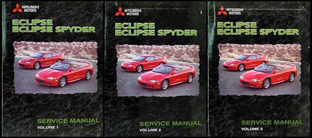 car repair manuals download 1999 mitsubishi eclipse windshield wipe control 1999 mitsubishi eclipse repair shop manual set original