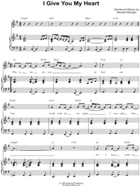 i give you my reuben lyrics buy musicnotes digital sheet