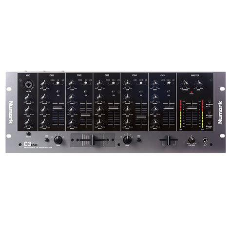 Mixer Musik numark c3 usb 5 channel mixer 171 dj mixer