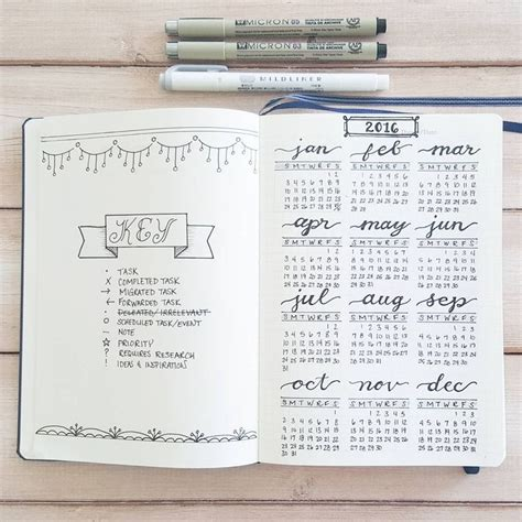 Calendar Key Best 25 Bullet Journal Key Ideas On Agenda