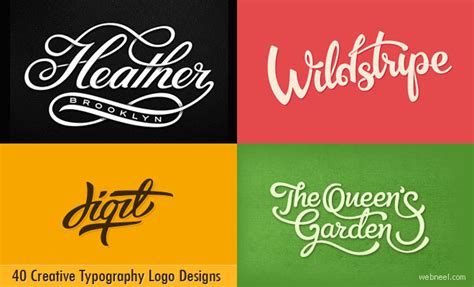 typography logo design 40 creative typography logo design inspiration for you