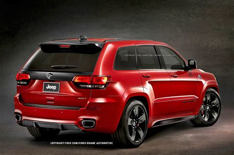 jeep hellcat 2015 jeep grand cherokee srt hellcat rendering photo