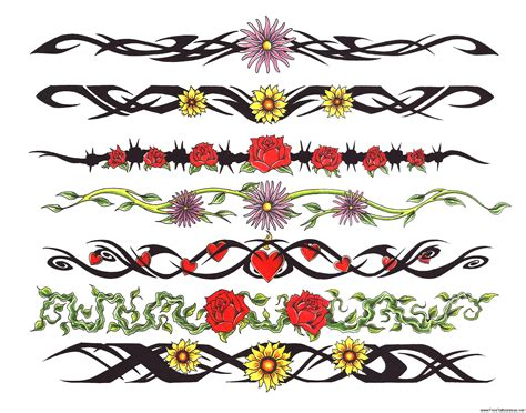 armband tattoos designs armband tattoos