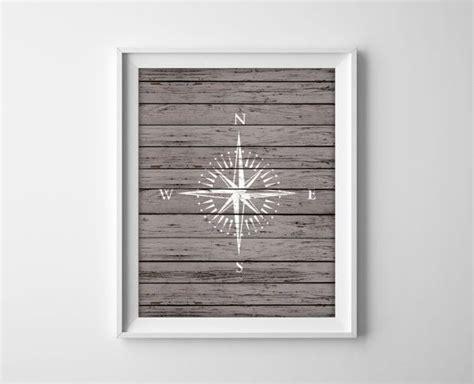 nautical compass compass print nautical decor rustic 297 best art images on pinterest