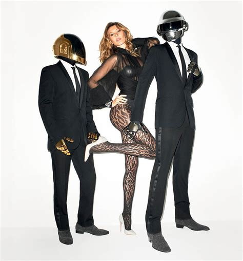 Daft Punk 'Gets Lucky' With Gisele Bündchen   WSJ