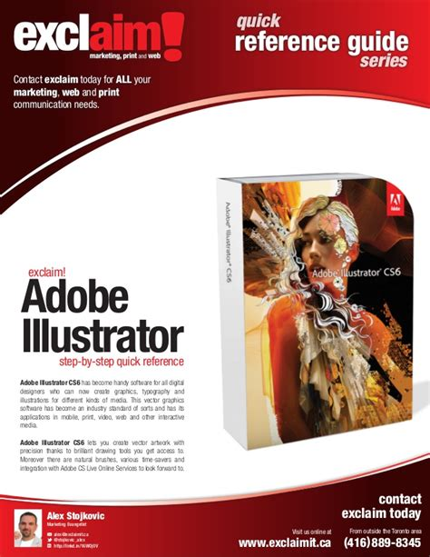 Adobe Illustrator Cs6 Quick Guide | free adobe illustrator cs6 quick reference guide from exclaim