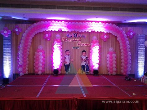 decoration images thanveesh ram birthday party accord hotel pondicherry