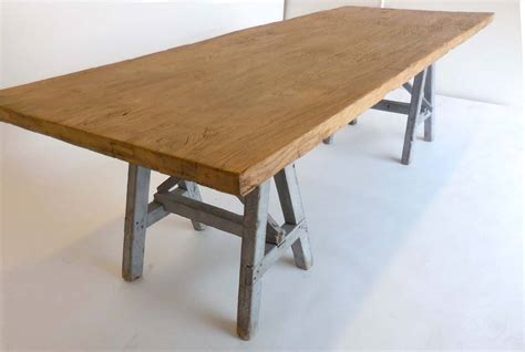 sawhorse bench sawhorse table at 1stdibs