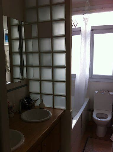 bathroom glass bricks before after introducing the enchanting madiran paris