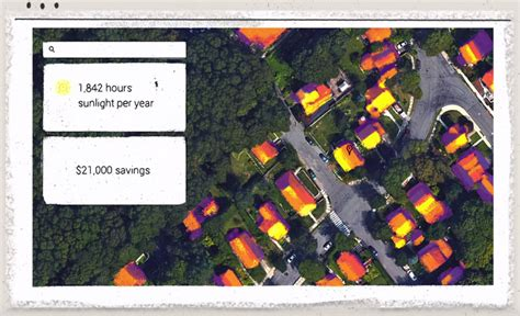google project sunroof project sunroof uses google maps to measure your roof s