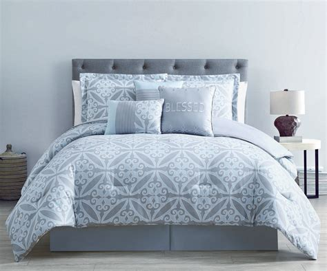 best 28 blue and silver comforter set silver and blue