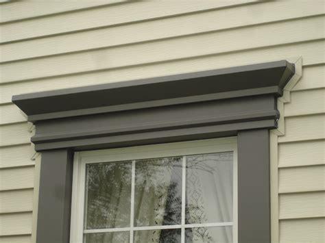Exterior Door Header Window Header Detail Traditional Exterior Cleveland By Miller Custom Exteriors