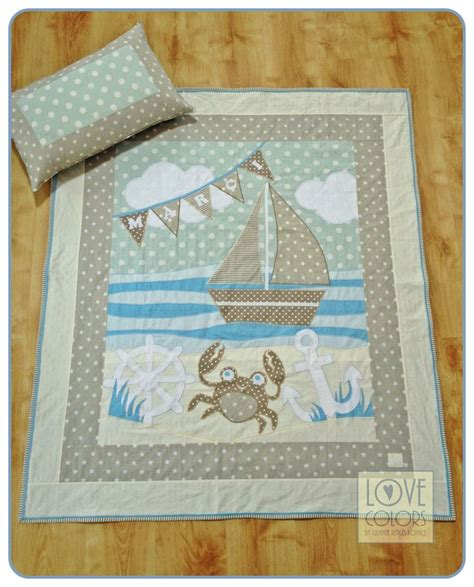 Patchwork By Sea - 17 best ideas about nautical quilt on children