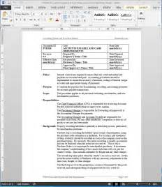 Accounting Sop Template by Accounts Payable Disbursement Procedure Bizmanualz