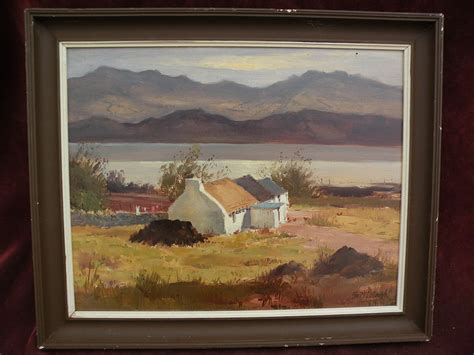 Cottage Dictionary George Mccullough 1922 Landscape Painting