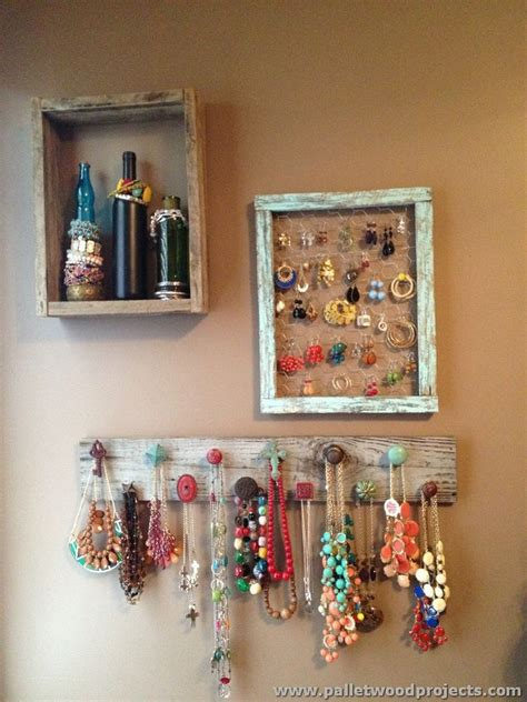 jewelry holder jewelry holders made from wooden pallets pallet wood
